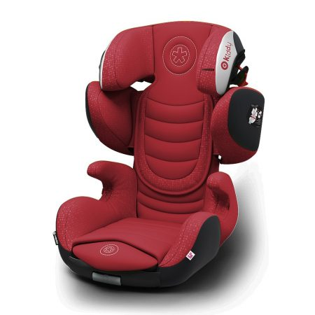 Kiddy GuardianFix pro 3 isofix child car seat Ruby Red 9 months 12 years