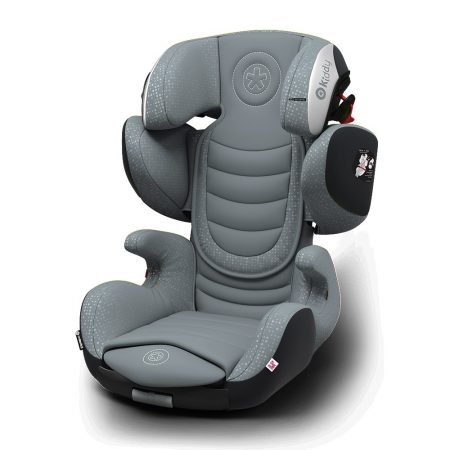 Kiddy GuardianFix pro 3 isofix child car seat Steel Grey 9 months 12 years