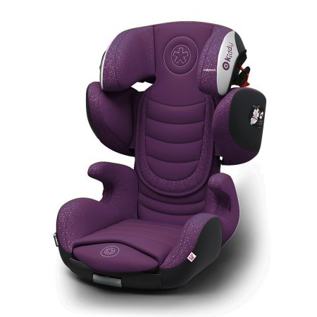 Kiddy GuardianFix pro 3 isofix child car seat Purple 9 months 12 years