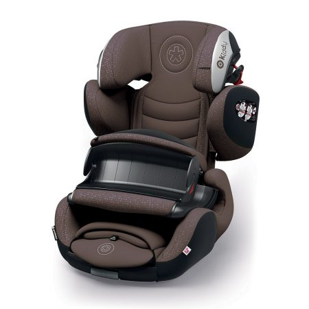 Kiddy GuardianFix pro 3 isofix child car seat nougat brown 9 months 12 years