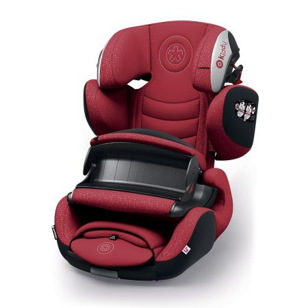Kiddy GuardianFix pro 3 isofix child car seat Red 9 months 12 years