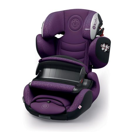 Kiddy GuardianFix pro 3 isofix child car seat Royal Purple 9 months 12 years