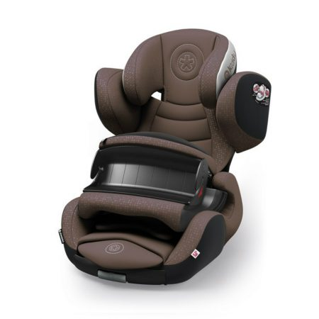 kiddy phoenixfix 3 isofix child baby car seat nougat brown 9 months 4 years