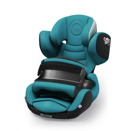 Kiddy phoenixfix 3 isofix child baby car seat petrol Blue 9 months 4 years