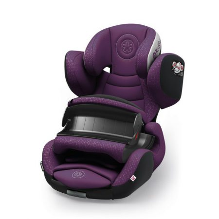 kiddy phoenixfix 3 isofix child baby car seat royal purple 9 months 4 years