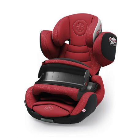 kiddy phoenixfix 3 isofix child baby car seat ruby red 9 months 4 years