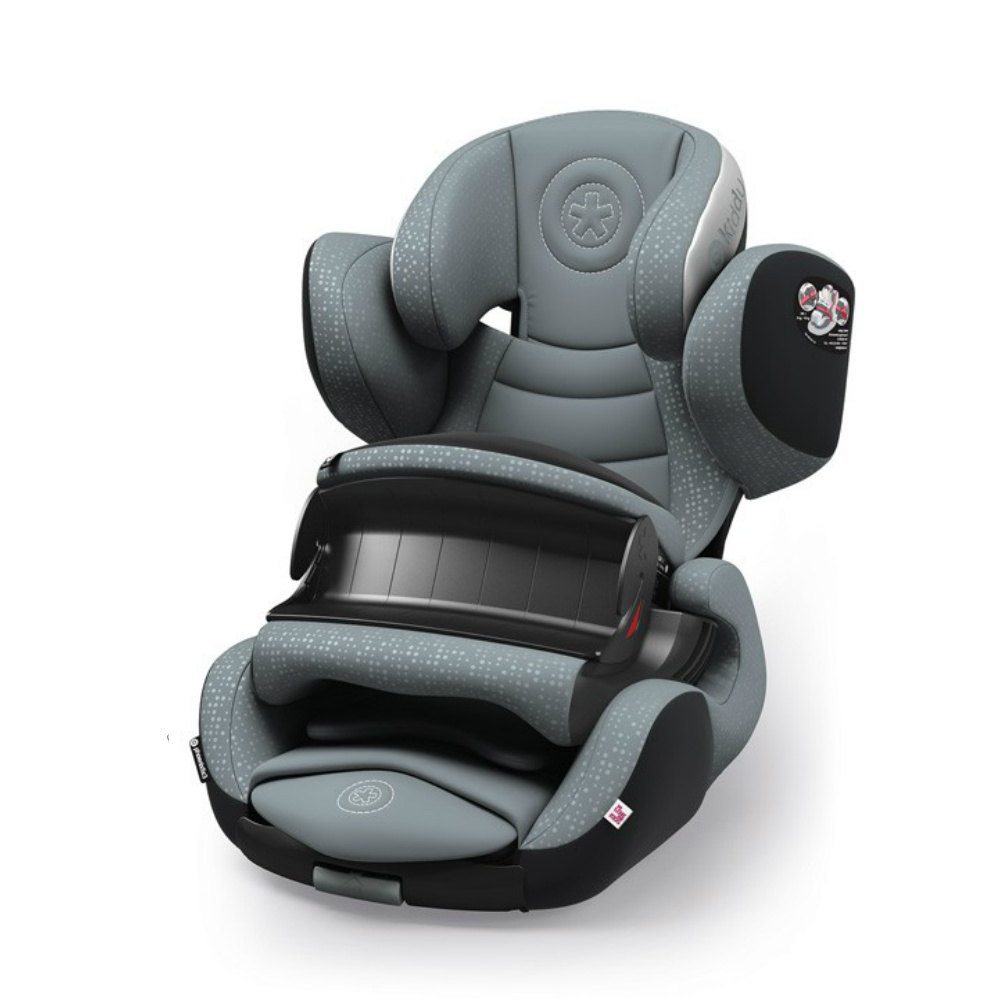 Kiddy Phoenixfix 3 Isofix Car Seat In Polar Greyy 9 Months