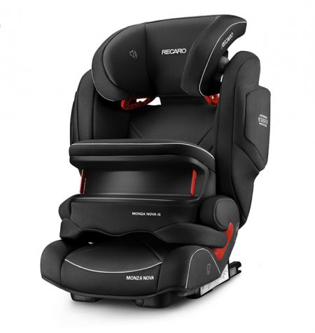 recaro monza nova IS seatfix performance black impact shield