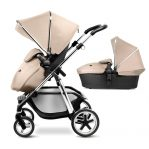 silver cross pioneer pushchair and carrycot sand