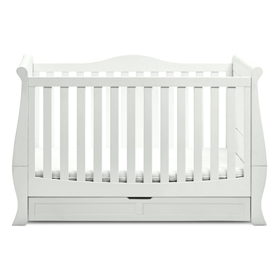 silver cross windsor sleigh cot bed