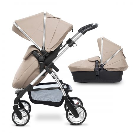 wayfarer sand 2017 hoopdack pushchair and carrycot
