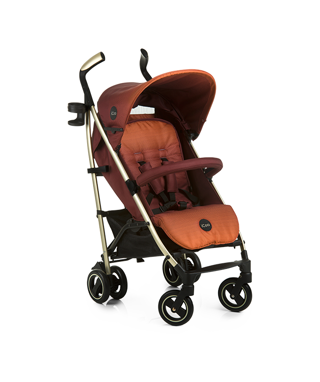 Icoo Pace Pushchair Mocca 0 3 Years By Affordable Baby