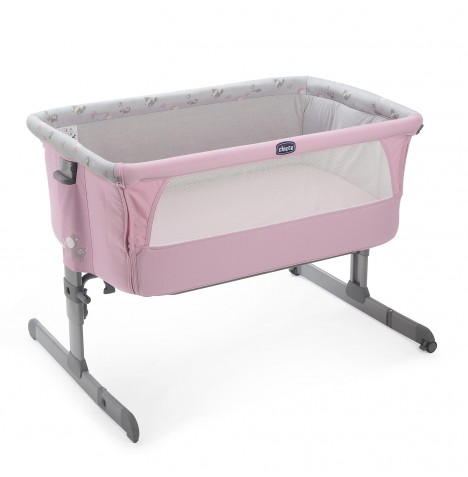New Bed Side Baby Crib Chicco Next 2 Me Drop Side In