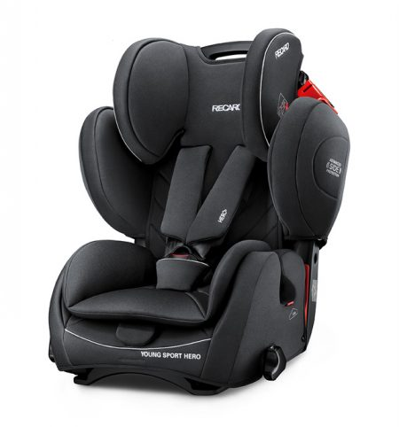 Recaro young sport hero Performance Black car seat 9 months - 12 years group 123