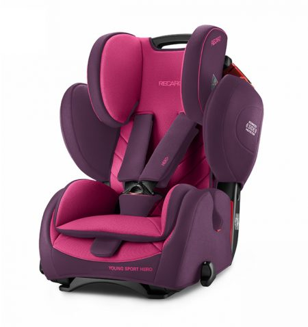 Recaro young sport hero Power Berry car seat 9 months 12 years group 123