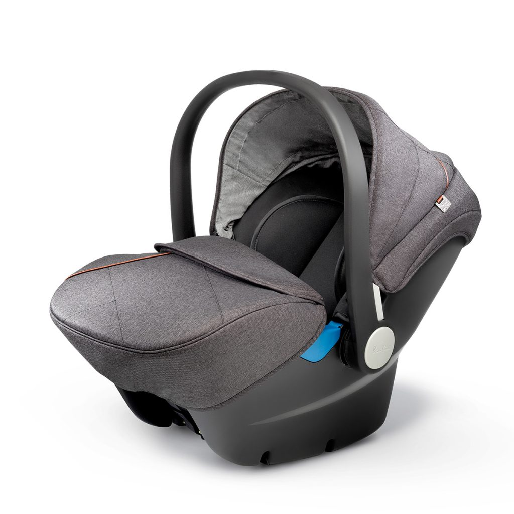 Silver Cross Simplicity Wave Car Seat Granite