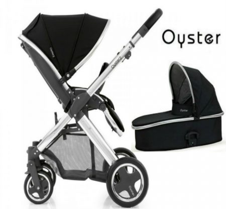 babystyle oyster carrycot and pushchair
