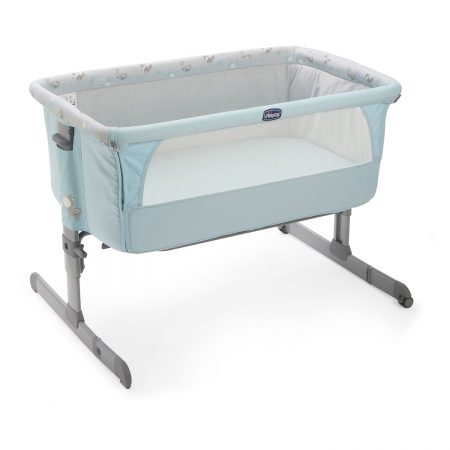 chicco next to crib new sky blue