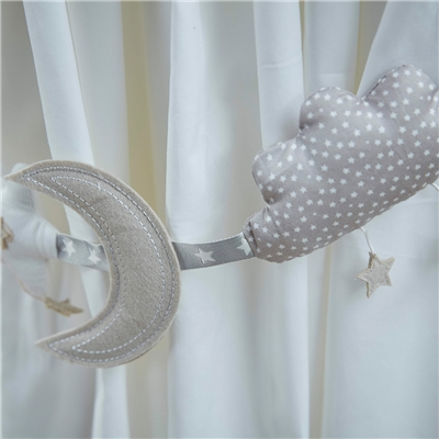 Curtain Tie Backs To The Moon And Back