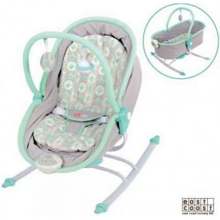 east coast rest & play Dreamer rocker chair and moses