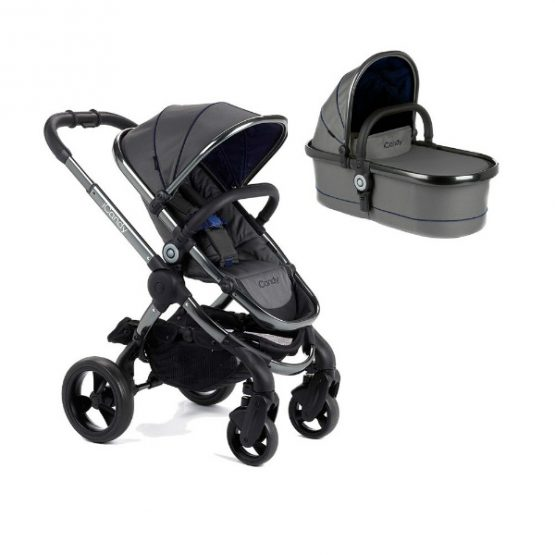 iCandy Peach Moonlight Pushchair u0026 Carrycot - Space Grey Chassis