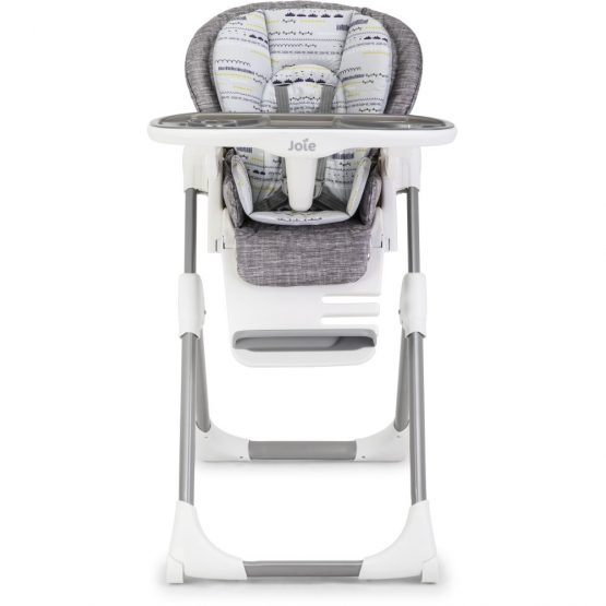joie mimzy lx high chair khloe & bert gray