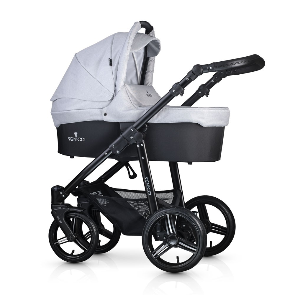 Venicci Soft 3 in 1 Travel System Package Pushchair, Carrycot & Car Seat all colours