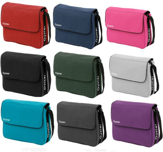 oyster changing bags 2017 all colours
