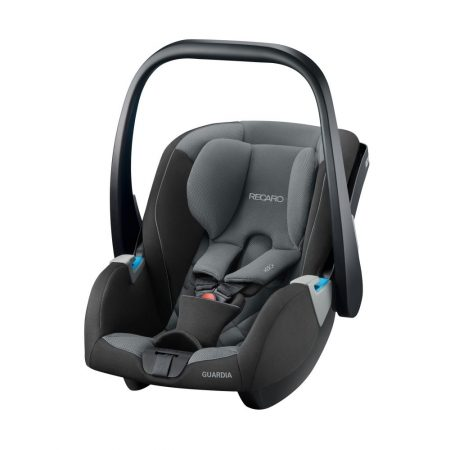 recaro guardia car seat carbon black new