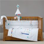 Silver Cross Cot Cotbed Quilt Zoobaloo