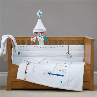 Silver Cross Luxury Cot / Cot Bed Quilt- Zoobaloo
