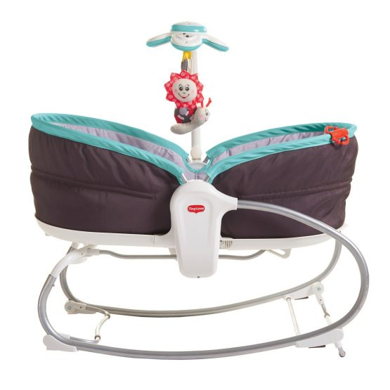 Tiny Love 3 In 1 Rocking Vibrating Bouncy Chair Moses Basket