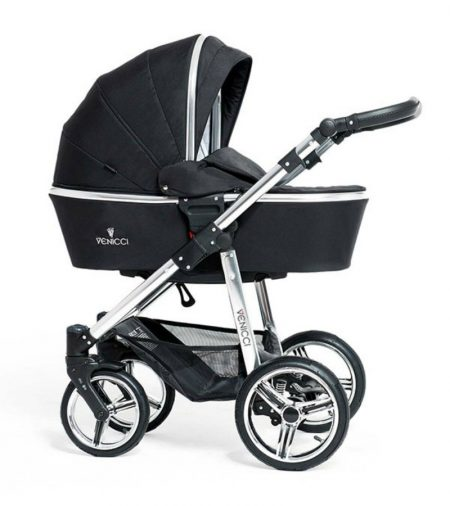 venicci travel system black chrome