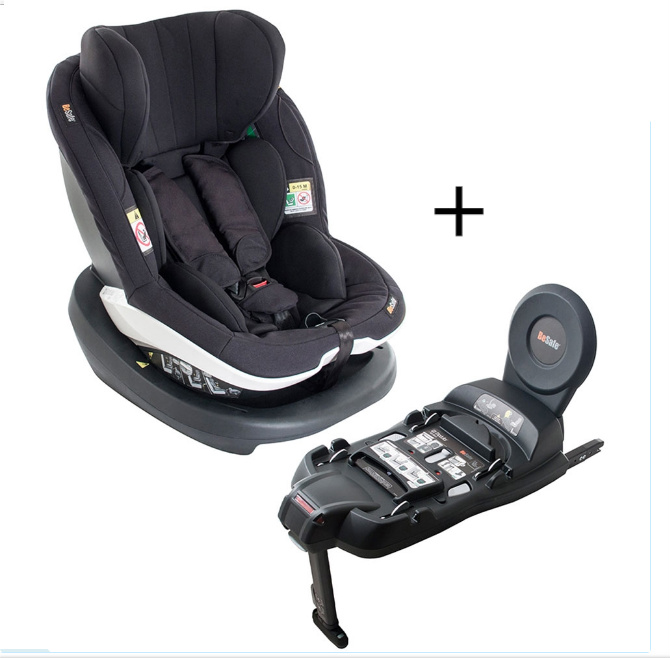 Izi modular i-size car seat black cab from 6 months to 4 years extended rearward facing with isofix base