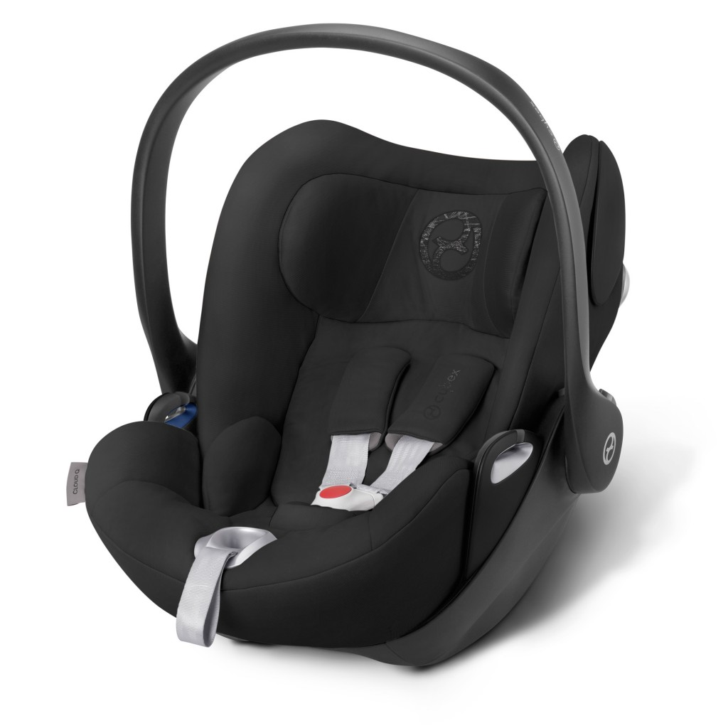 Cybex Cloud Q Happy Black - Lay Flat Car Seat