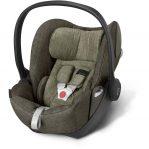 cybex cloud q plus khaki 0-12 months lay flat car seat