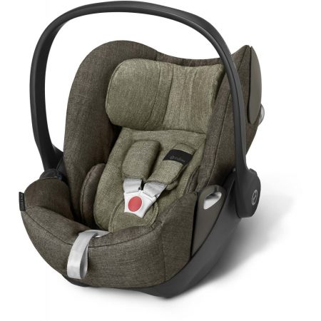 cybex cloud q plus khaki 0-12 months lay flat car seat