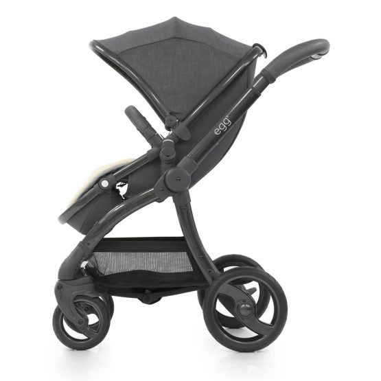 Egg Quantum Grey Package Special Edition Pushchair Amp Carrycot