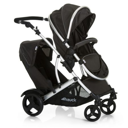 hauck duett pushchair twin alu chassis