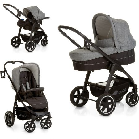 hauck soul pushchair grey