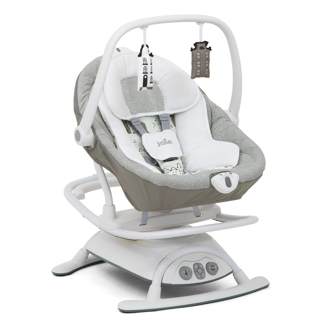 Joie Sansa 2 in 1 Musical & Motion Swing and Rocker - Petite city