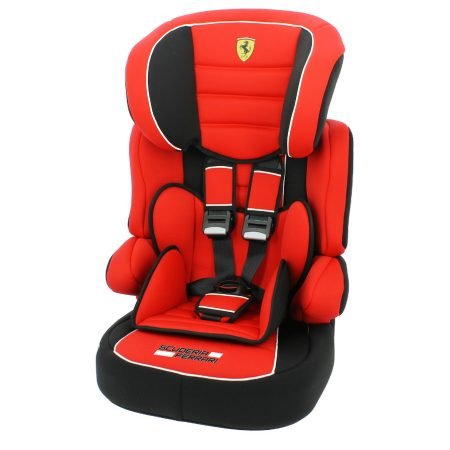 nania beline ferrari hi back booster child car seat with harness groups 1 2 3