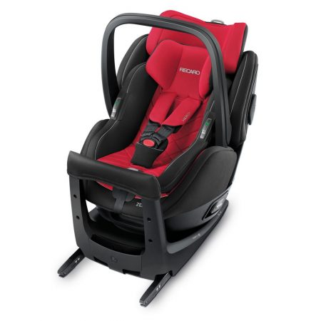 recaro zero 1 elite racing red isofix rearward facing car seat