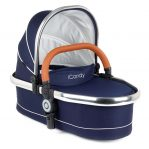 icandy peach twin carrycot in royal