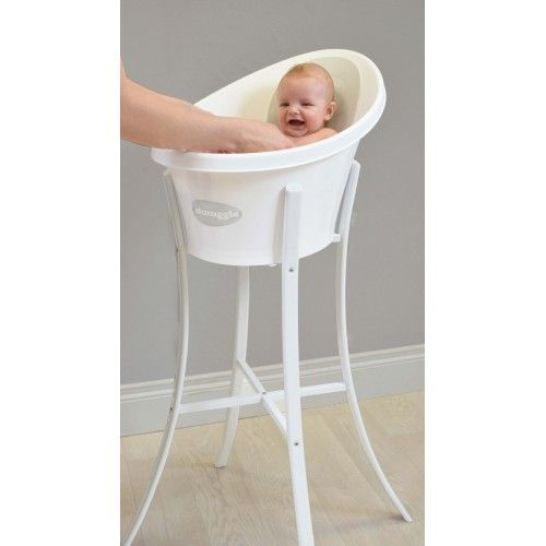 Shnuggle Grey Bath Amp Stand From Birth 12 Months By