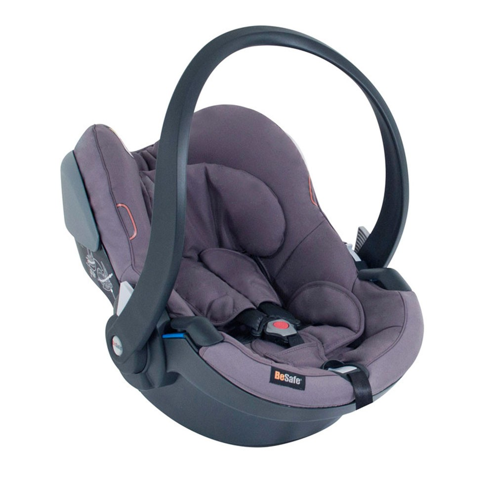 BeSafe IZi Go X1 Car Seat Baby Carrier From Birth to 9kg - Lava Grey