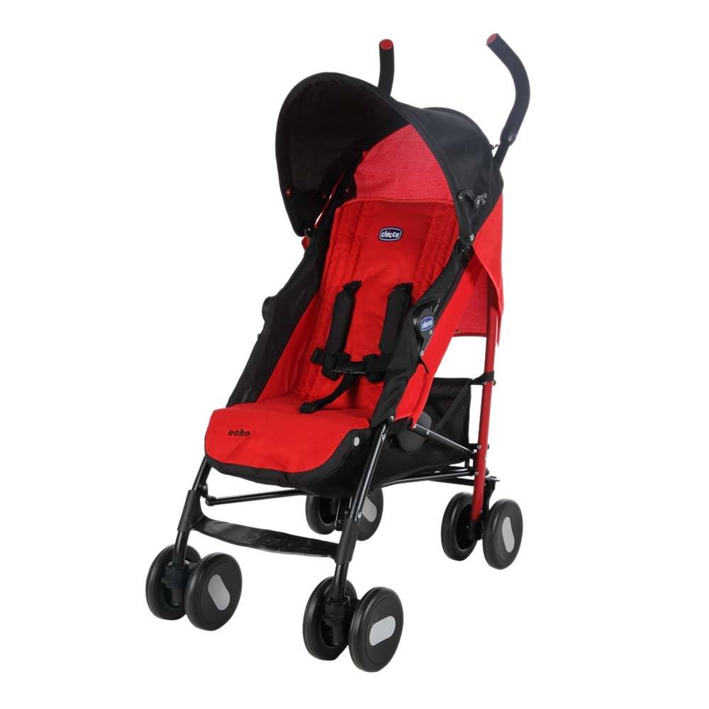 Chicco Echo Lightweight Stroller From Birth to 15 kg – Garnet Red