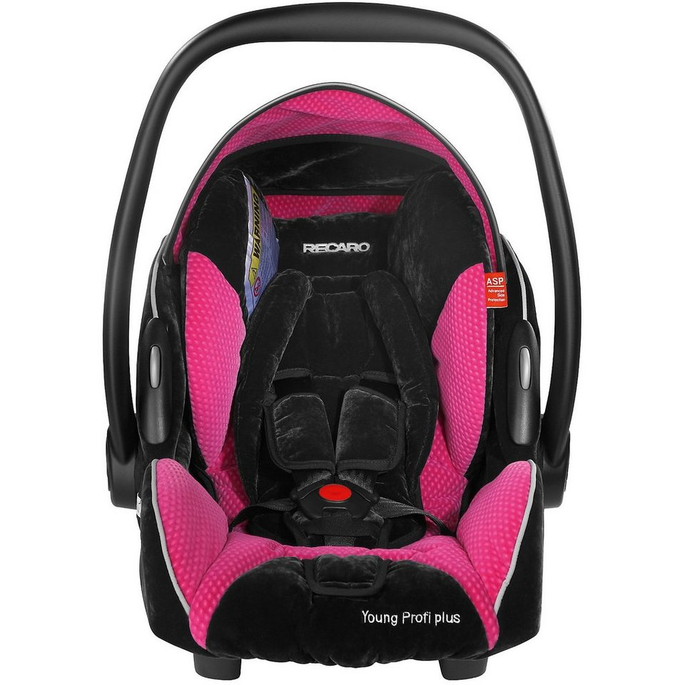 Recaro Young Profi Plus Infant Carrier Pink from Birth to 13kg