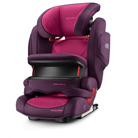 monza nova IS Seat fix berry pink 9 months - 12 years