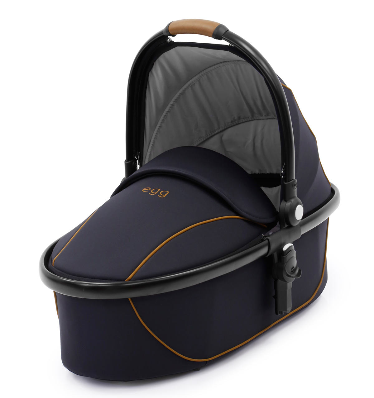 Egg Carrycot Espresso - Black Chassis